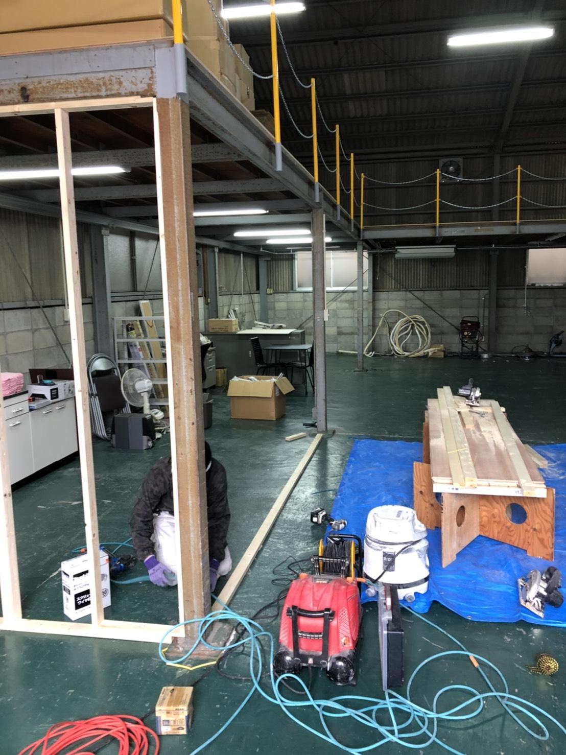 倉庫のリフォーム