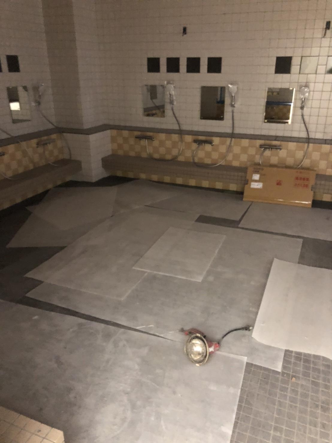 お風呂棚の製作