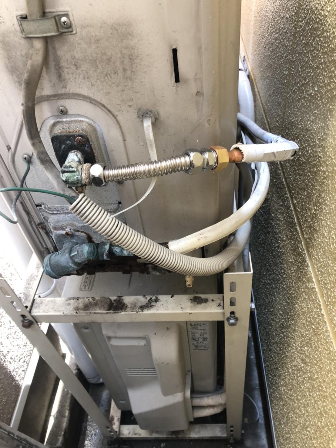 電気温水器の水漏れ修繕