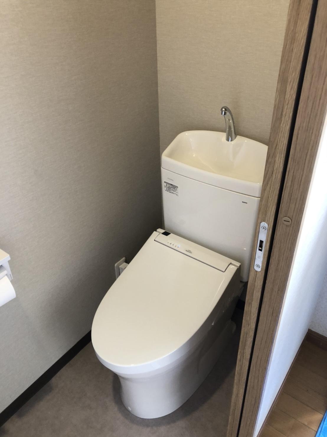 押入れをトイレにリフォーム