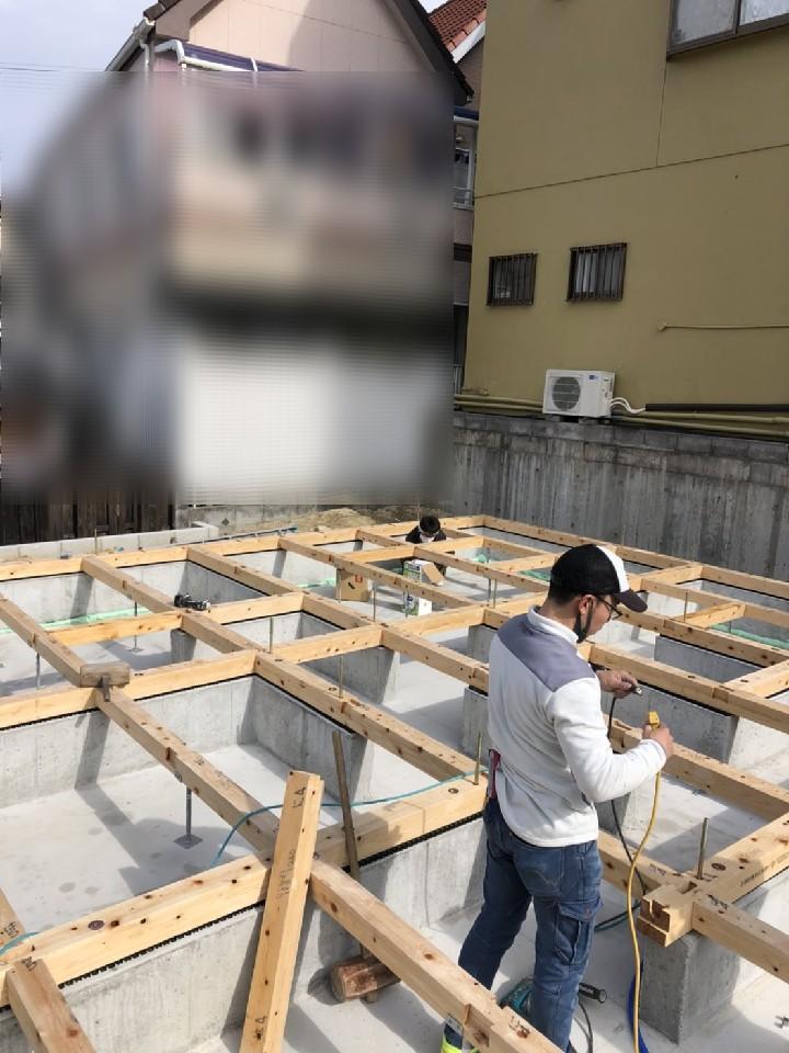 新築工事スタート