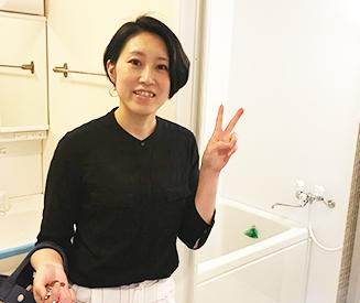 東大阪市F様 お風呂リフォームのお声