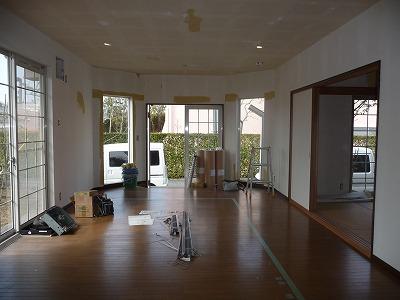 東大阪市K様邸 間仕切り工事 施工Before写真